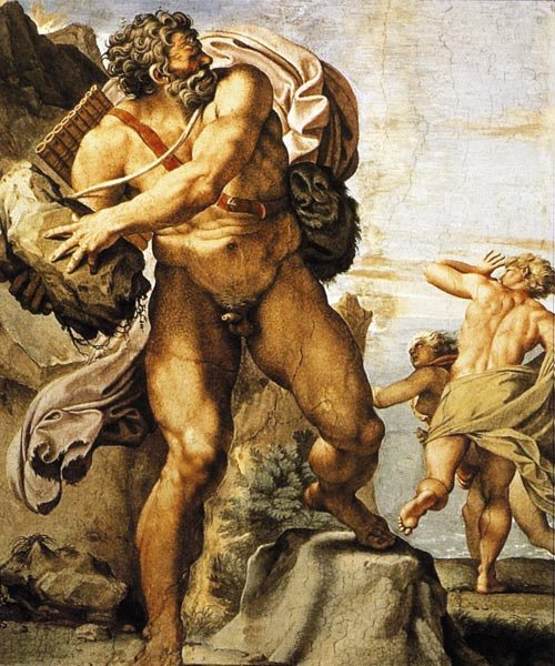 a comparison of the character of polyphemus in the greek mythology and the odyssey by homer Odysseus: odysseus, in greek legend, the wise and courageous king of ithaca who is the hero of homer's odyssey encyclopædia greek mythology.